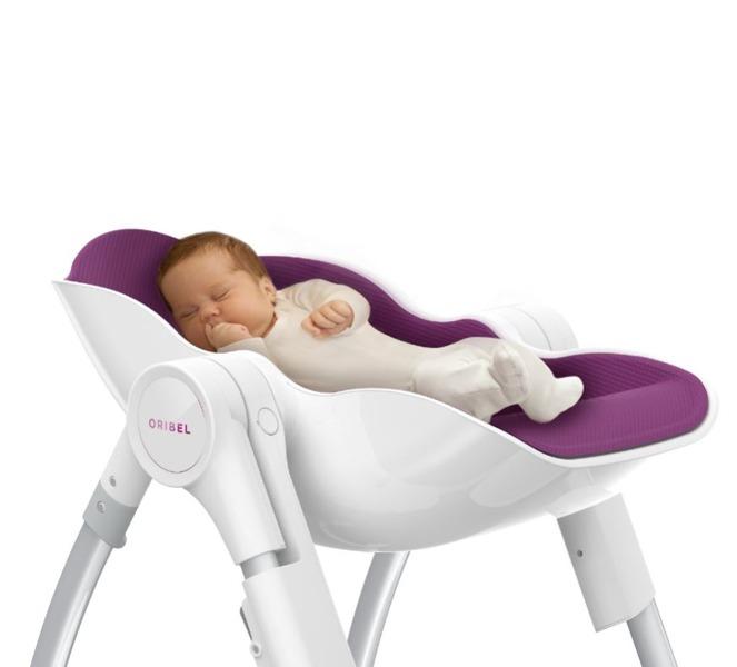 Świeże Oribel - Krzesełko do Karmienia Cocoon Śliwka / krzesełka do RJ51