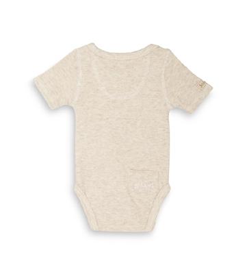 Juddlies - Body Oatmeal Fleck Melange 3-6m