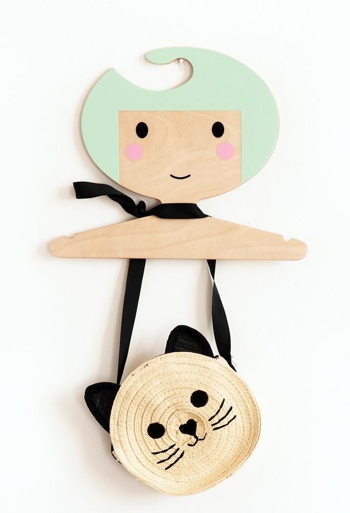Petit Monkey - Wieszak Dziecięcy Mint