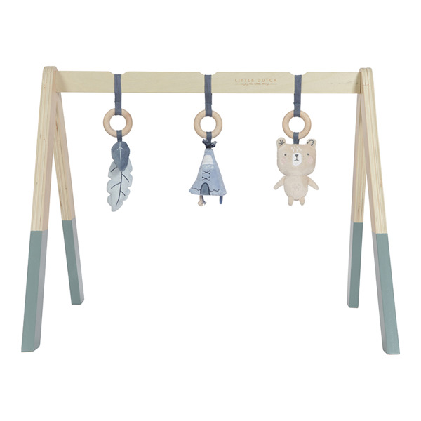 Little Dutch - Pałąk Baby Gym Błękit 0m+