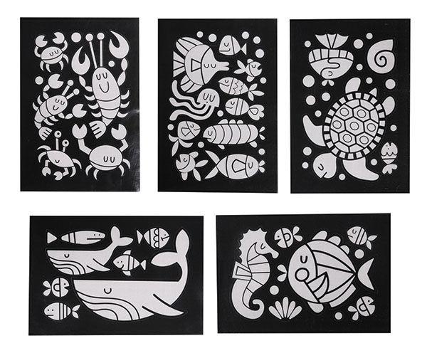 Tiger Tribe - Zestaw Kreatywny Zwierzęta Morskie