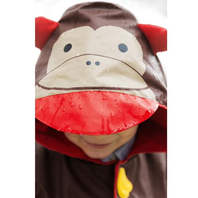 Skip Hop - Płaszcz Przeciwdeszczowy Zoo Małpka 12-24 m-cy