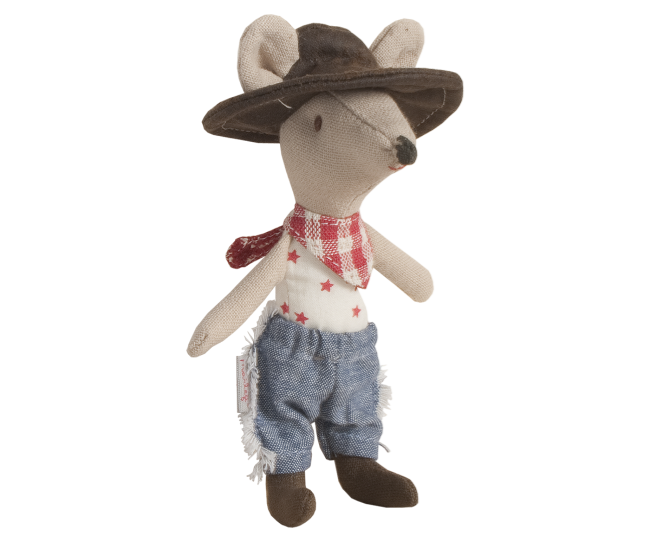 Maileg - Przytulanka Myszka Cowboy