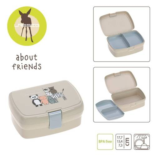 Lassig - Lunchbox z Wkładką About Friends
