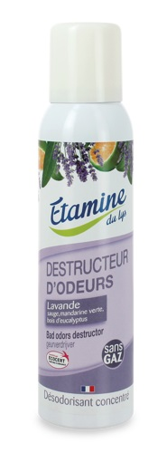 Etamine du Lys - Skoncentrowany Oczyszczacz i Odświeżacz Powietrza w Sprayu Zapach Lawendowy 125ml