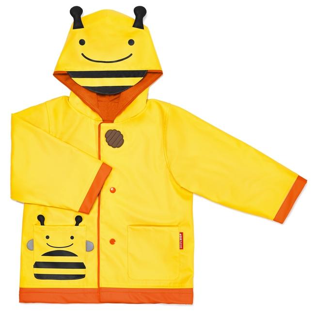 Skip Hop - Płaszcz Przeciwdeszczowy Zoo Pszczółka L 5-6 lat