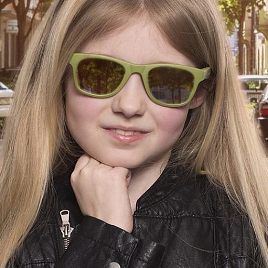 Koolsun - Okularki dla Dzieci Wave Army Green 3-10 lat