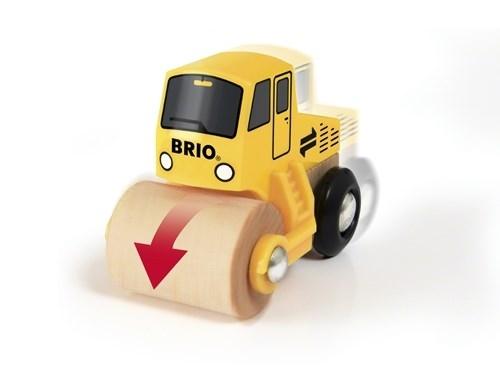 BRIO - World Zestaw Roboty Drogowe z Walcem
