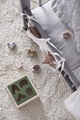 Kids Concept - Edvin Sorter Drewniany 4 Klocki 1+