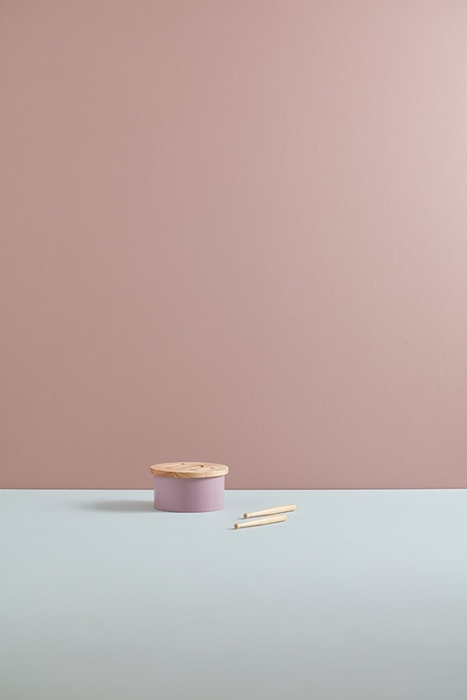 Kids Concept - Bębenek Mini Lilac 2+
