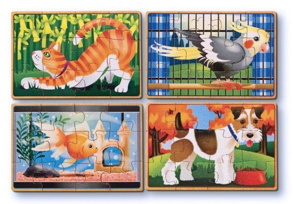 Melissa & Doug - Puzzle zwierzęta domowe