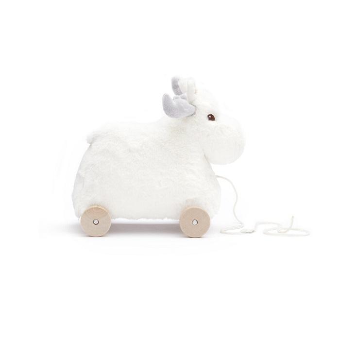 Kids Concept - Edvin Łoś do Ciągnięcia White