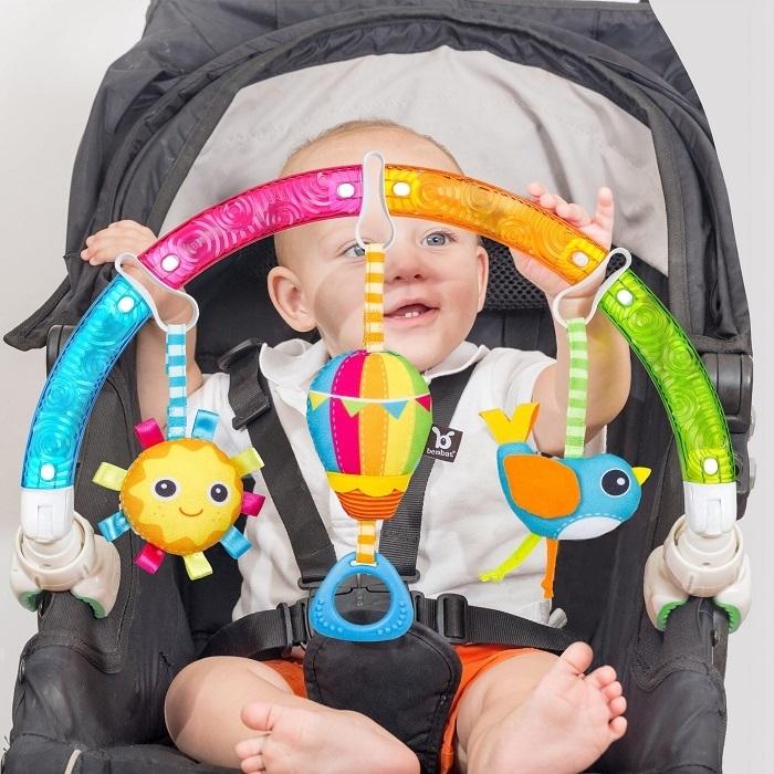 Benbat - Łuk z Zabawkami do Wózka