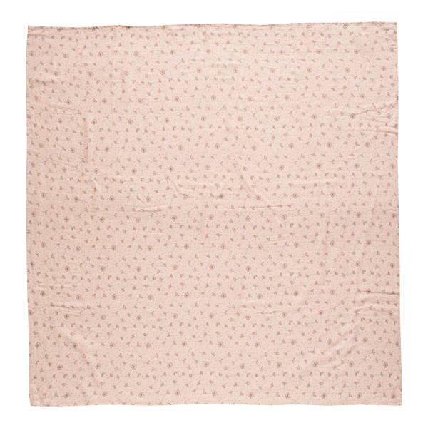 Bebe-Jou - Otulacz Bambusowo-Muślinowy Wish Pink 110x110cm