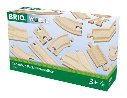 BRIO - World Zestaw Torów Do Rozbudowy 16szt