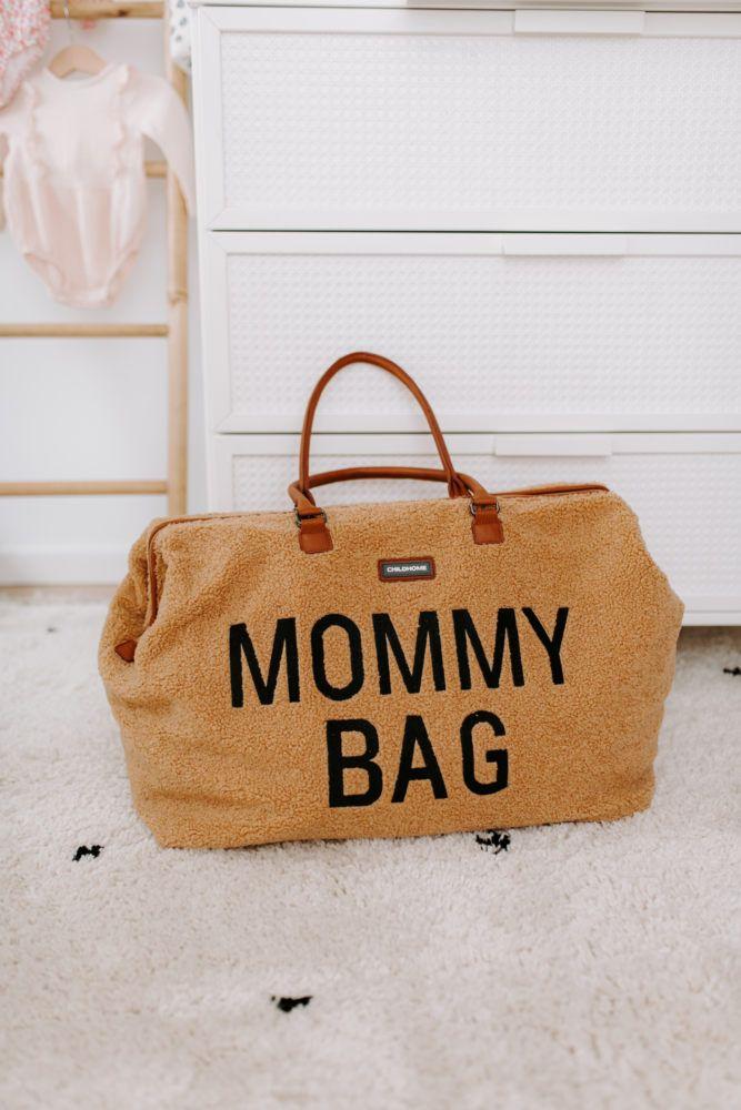 Childhome - Torba Mommy Bag Teddy Bear + Przewijak