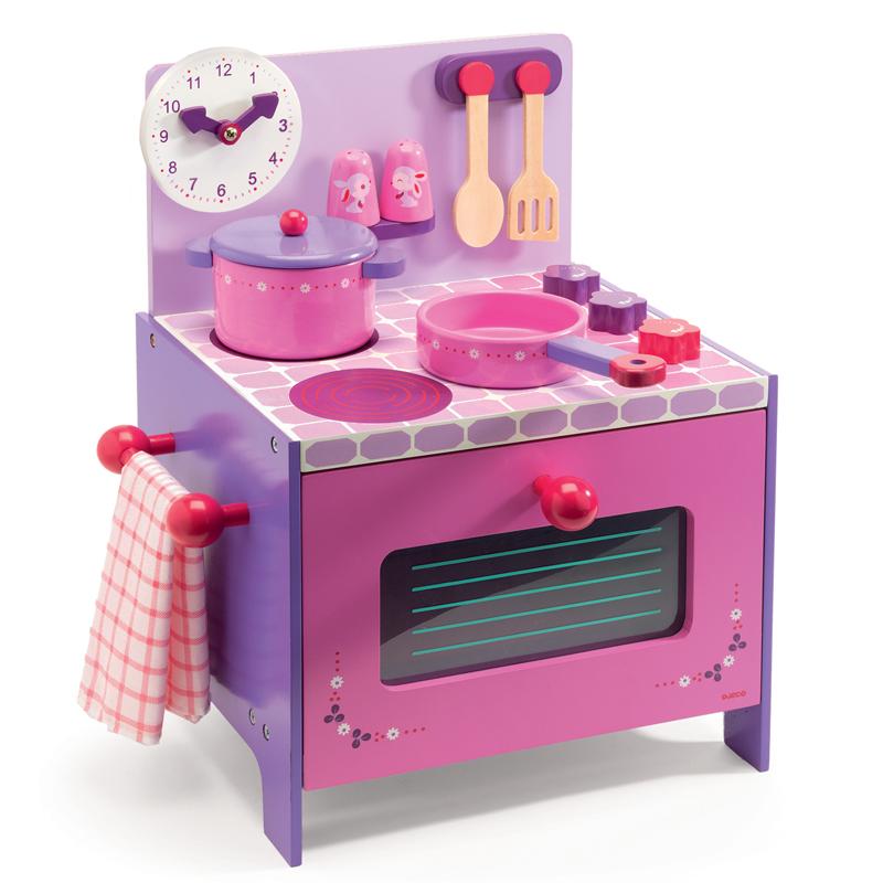 Djeco Kolorowa Kuchenka Zabawki Mamissima Zabawki Akcesoria