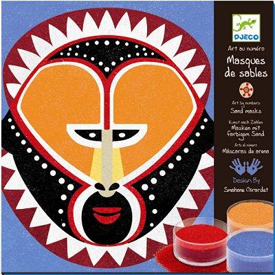 Djeco - Zestaw Artystyczny Maski z Piasku