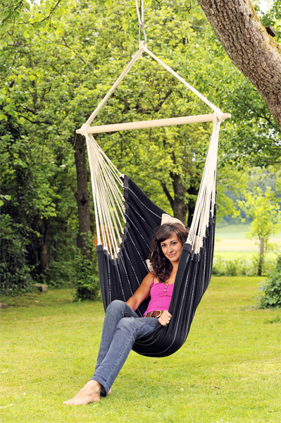 Amazonas - Huśtawka Brasil Chair Black