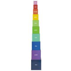 Sunnylife - Piramida z Kartonowych Pudełek Żyrafa 1+