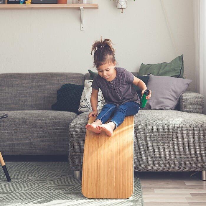 Wobbel - Deska do Balansowania Starter Transparent bez Filcu