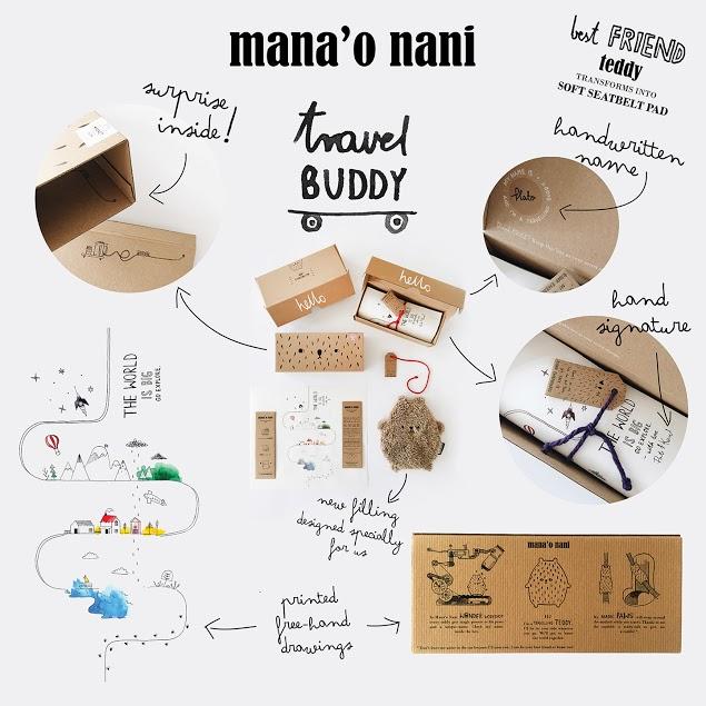 Mana'O Nani Travel Buddy Coco