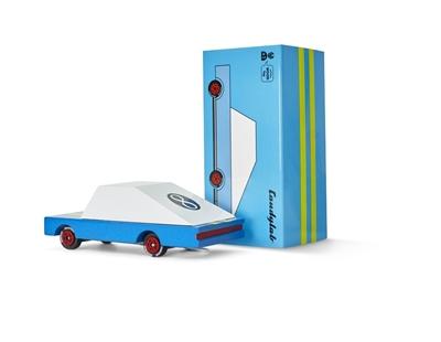 Candylab - Samochód Drewniany Blue Racer