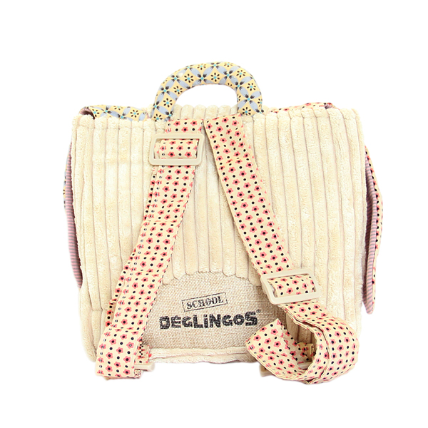 Les Deglingos Plecak Przedszkolaka Królik Lapinos