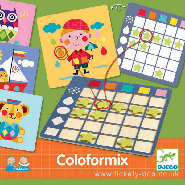 Djeco- Eduludo Coloformix
