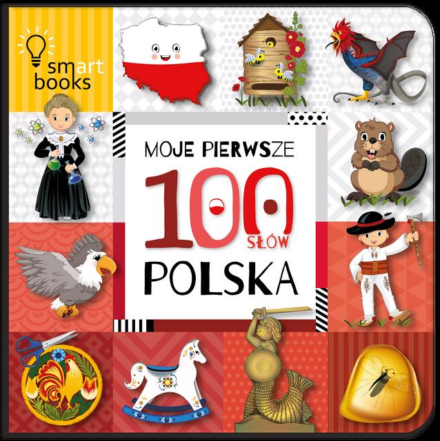 Wydawnictwo Smart Books - Moje Pierwsze 100 Słów Polska