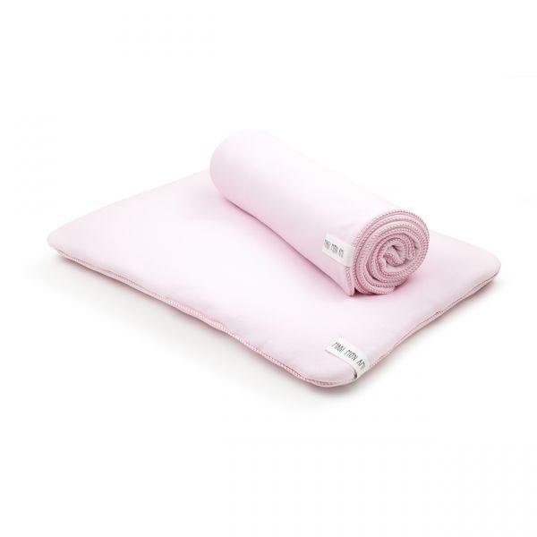 Maki Mon Ami - Poduszka Basic Różowa  L