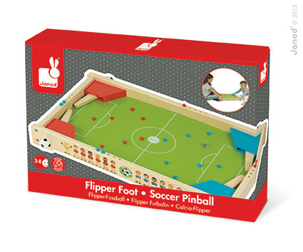 Janod - Gra Piłka Nożna Pinball