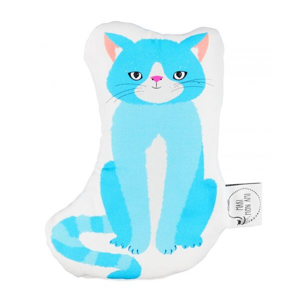 Maki Mon Ami - Mini Poduszka do Przytulania Kot Stefan