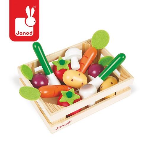 janod - Warzywa w Skrzynce 12 szt.