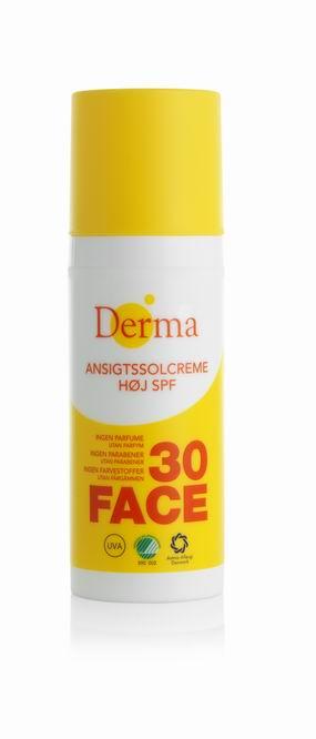 Derma Sun - Krem Słoneczny do Twarzy SPF 30, 50 ml