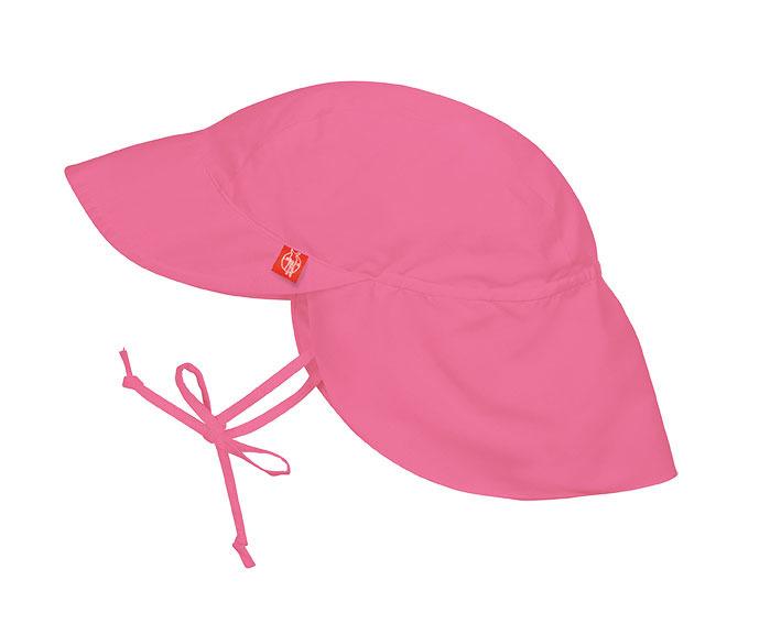 Lassig - Czapka z Daszkiem UV 50+ Pink 6-18m