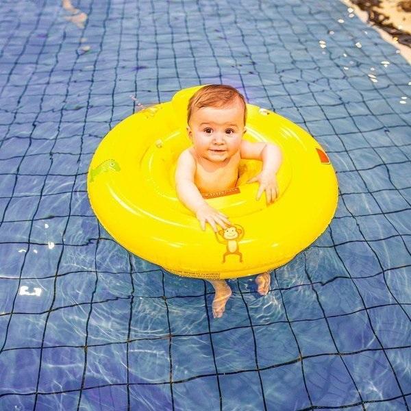 The Swim Essentials - Kółko treningowe dla dzieci żółte Zwierzątka