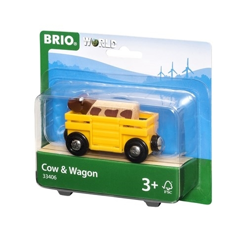 BRIO - World Wagon z Krową