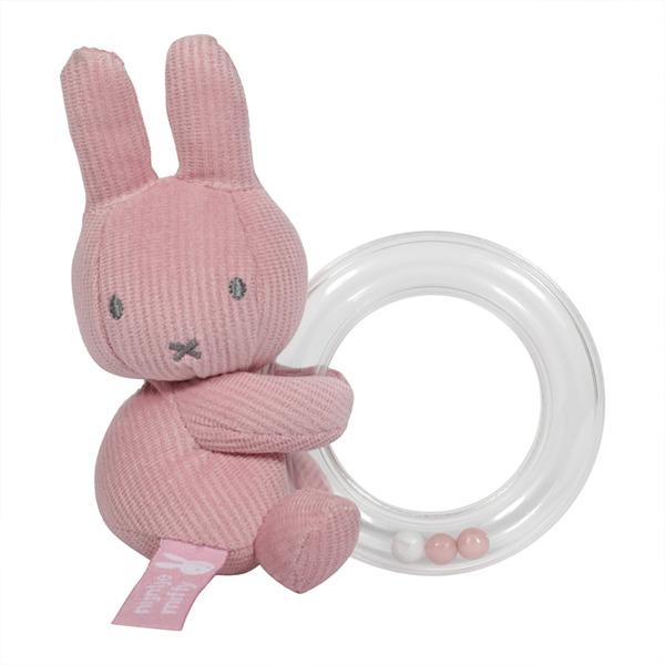 Tiamo - Grzechotka Kółko Miffy Pink Babyrib