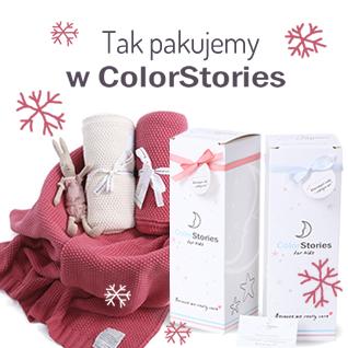 Color Stories - Tkany Kocyk Cotton Classic Mgła