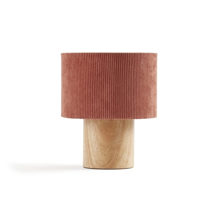Kids Concept - Lampa Stołowa Sztruksowa Rust