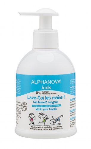 Alphanova Kids - Antybakteryjny Żel do Mycia Rąk 300ml