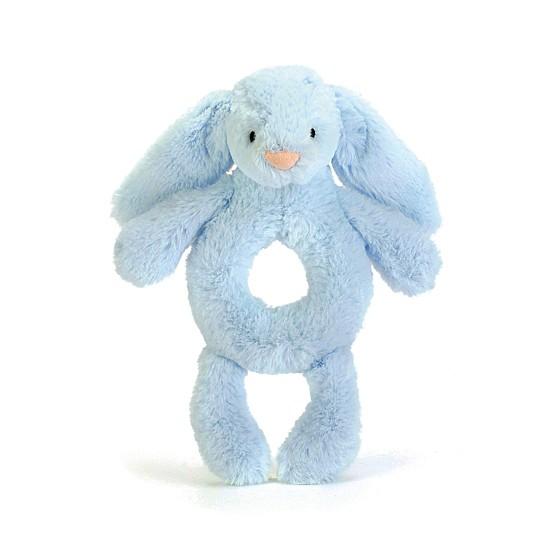 Jellycat - Grzechotka Króliczek Blue