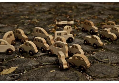 Wooden Story - Drewniany Samochodzik Eco Car 2+