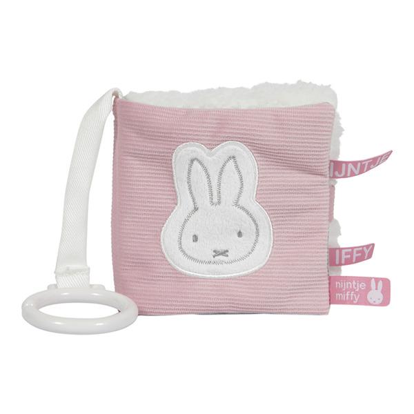 Tiamo - Interaktywna Książeczka Miffy Pink Babyrib 0m+