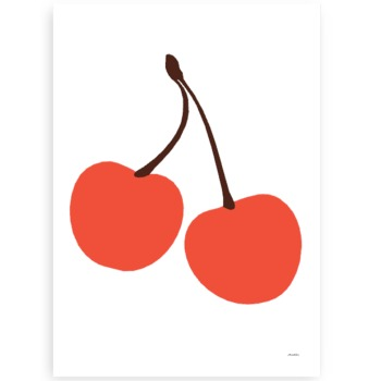 OMM Design - Plakat Wisienki