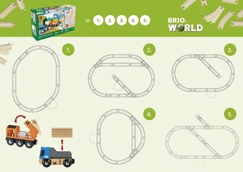 BRIO - World Kolejka Zestaw Startowy