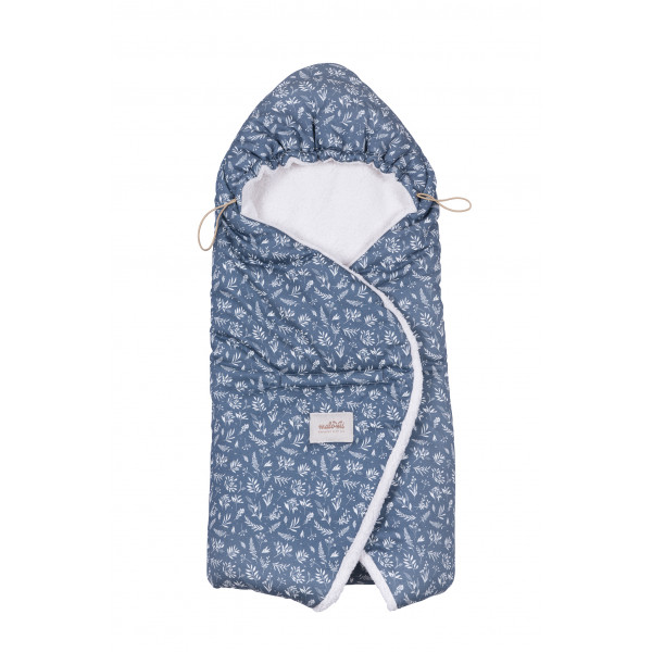 Malomi Kids - Otulacz do Fotelika Organic Denim