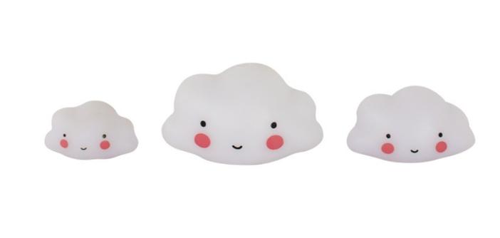 Little Lovely Company - Klocki Ozdobne Minis Clouds