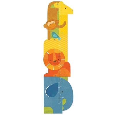 Petit Collage - Miarka Wzrostu Zwierzęta